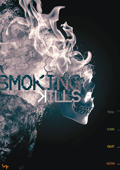 پوستر smoking Kills