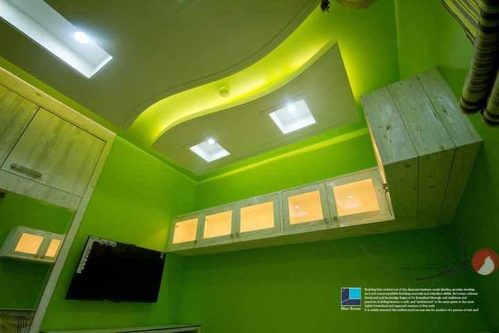 عکس تبلیغاتی شرکت معماری اتاق آبی