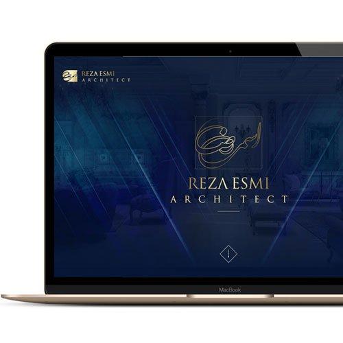 وب سایت معماری مهندس رضا اسمی