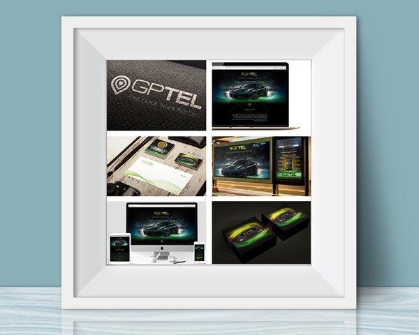 پکیج کامل تبلیغاتی شرکت خدمات اتومبیل جی پی تل (Gptel)